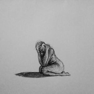 Untitled, 2014. Ballpoint pen on cartridge paper.